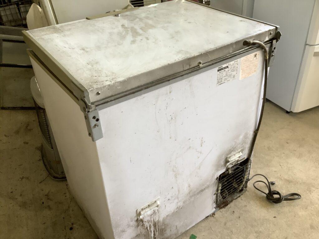 岡山市北区北長瀬で回収した業務用冷凍