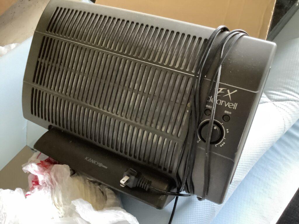 岡山市東区西大寺で回収した空気清浄機