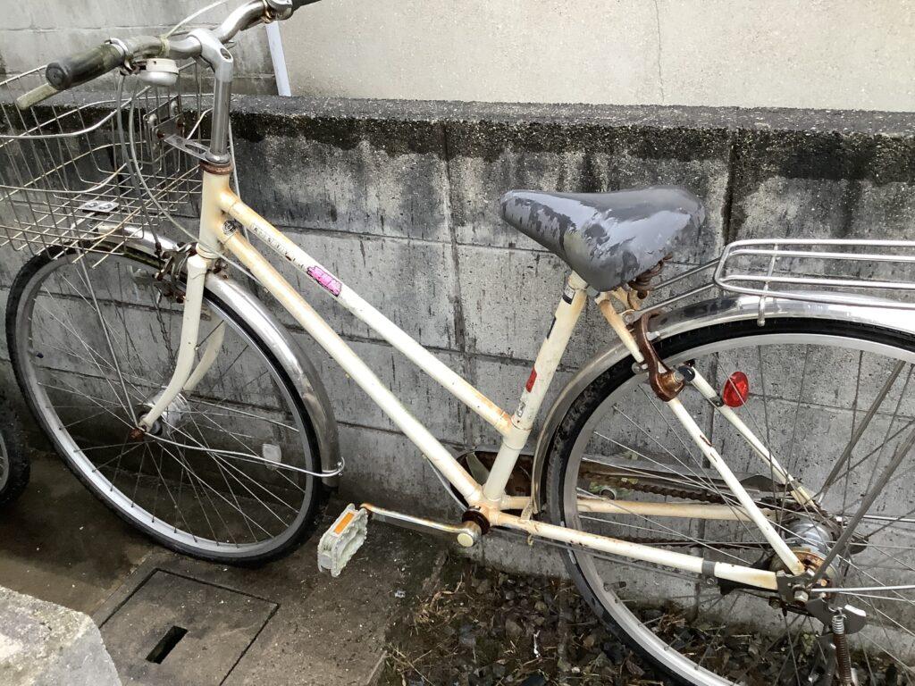 岡山市中区兼基で回収した自転車