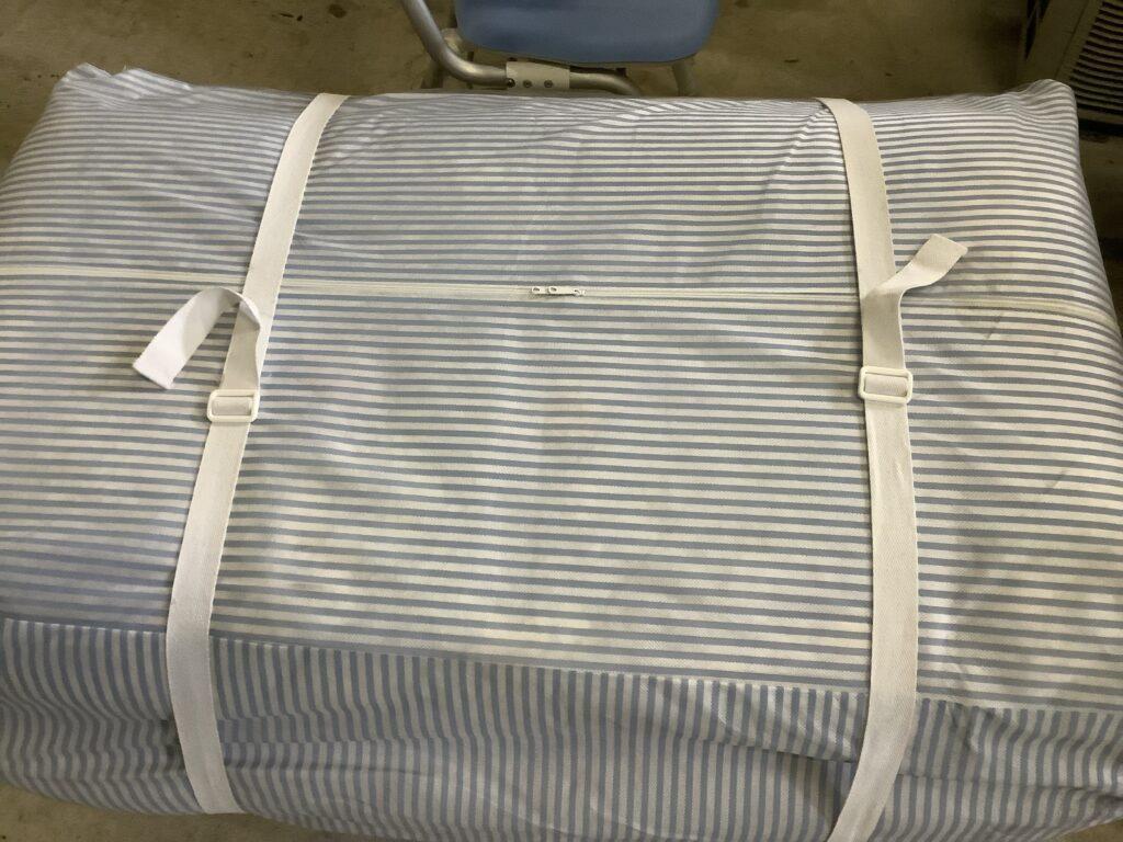 岡山市庭瀬で回収した布団