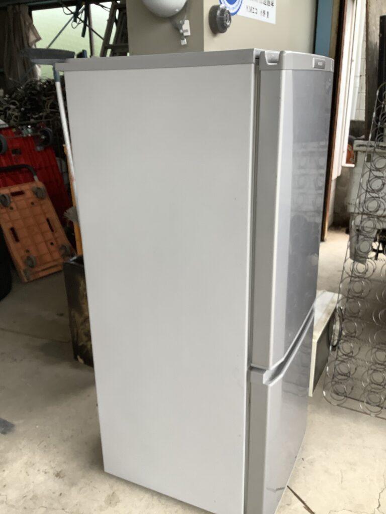岡山市中区高島で回収した冷蔵庫