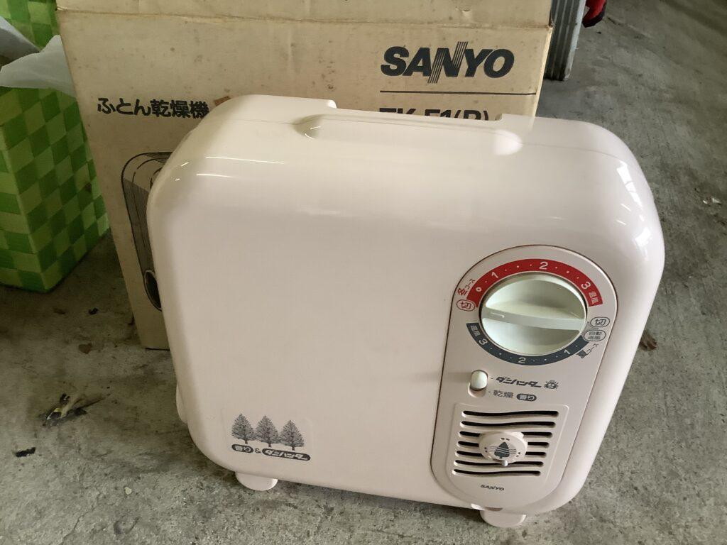岡山市北区大安寺で回収した布団乾燥機