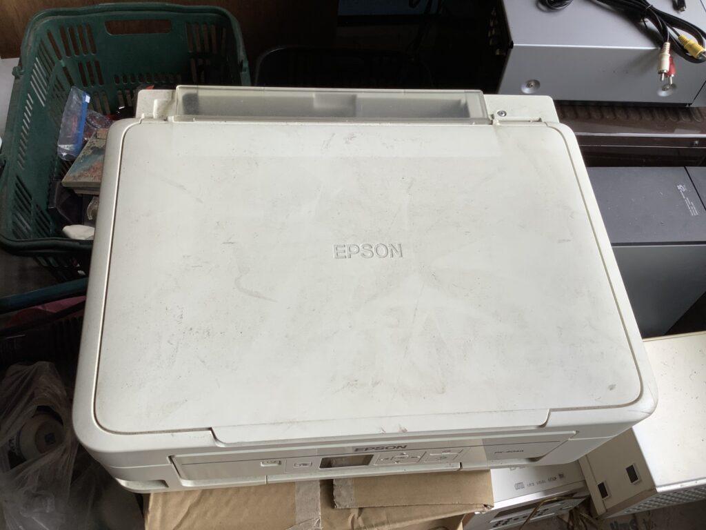 岡山市北区庭瀬で回収したコピー機
