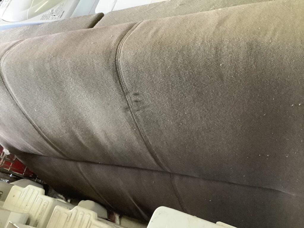 岡山市北区東古松で回収したソファーベッド
