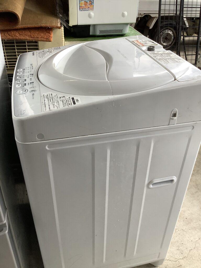 岡山市南区福富で回収した洗濯機