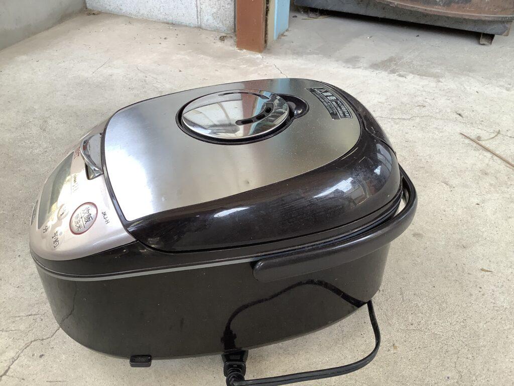 岡山市北区一宮で回収した炊飯器