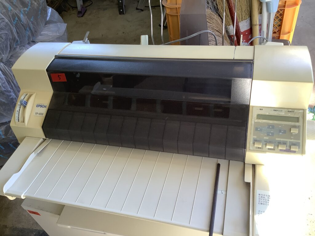 岡山市東区西大寺で回収したコピー機