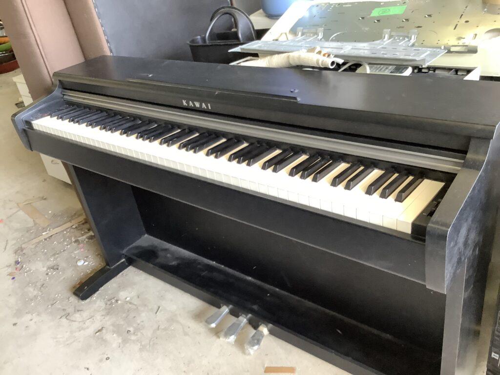 岡山市北区今で回収した電子ピアノ