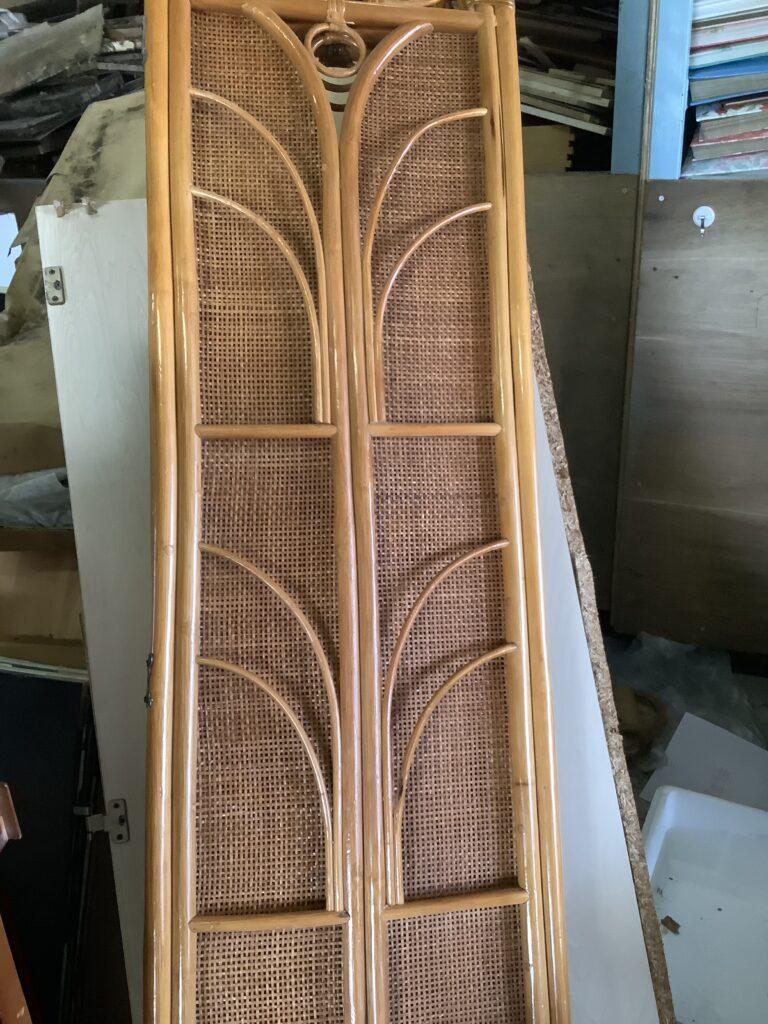 岡山市北区今で回収した籐家具