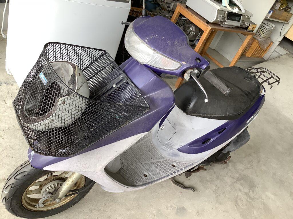 岡山市南区浦安本町で回収したバイク