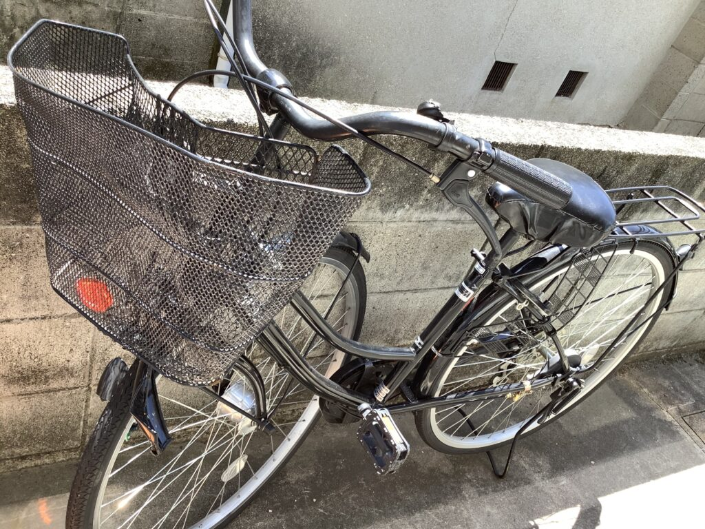 岡山市南区浦安本町で回収した自転車