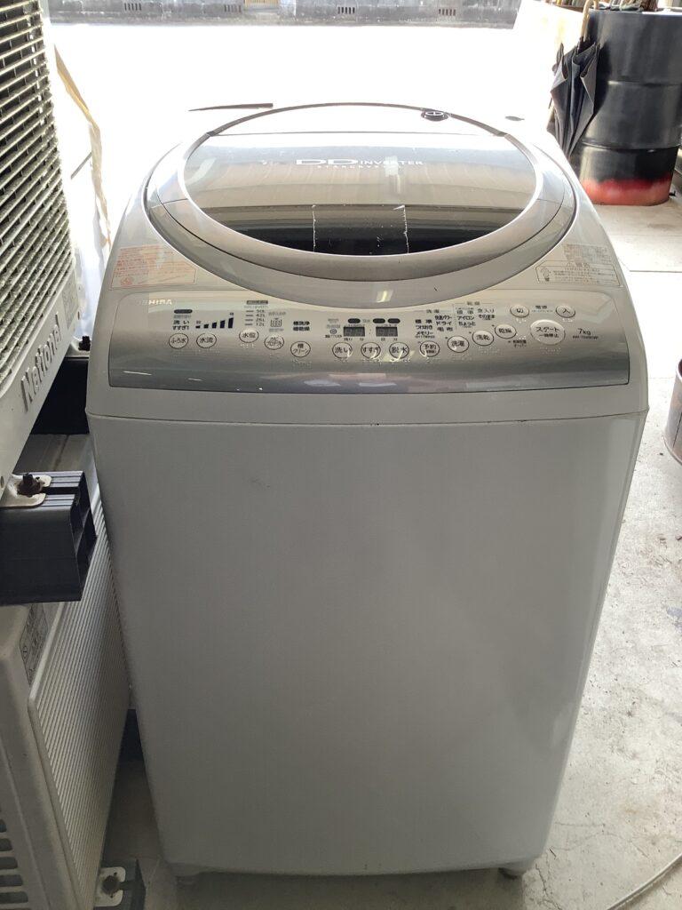 岡山市東区瀬戸町で回収した洗濯機