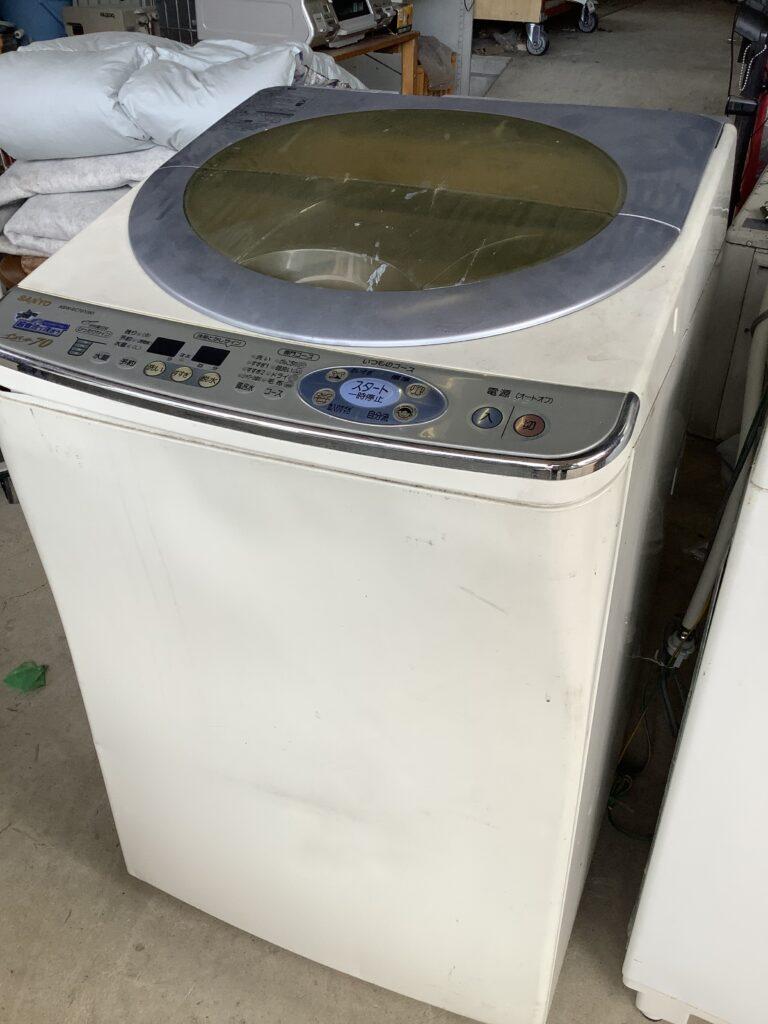 岡山市北区奥田本町で回収した洗濯機