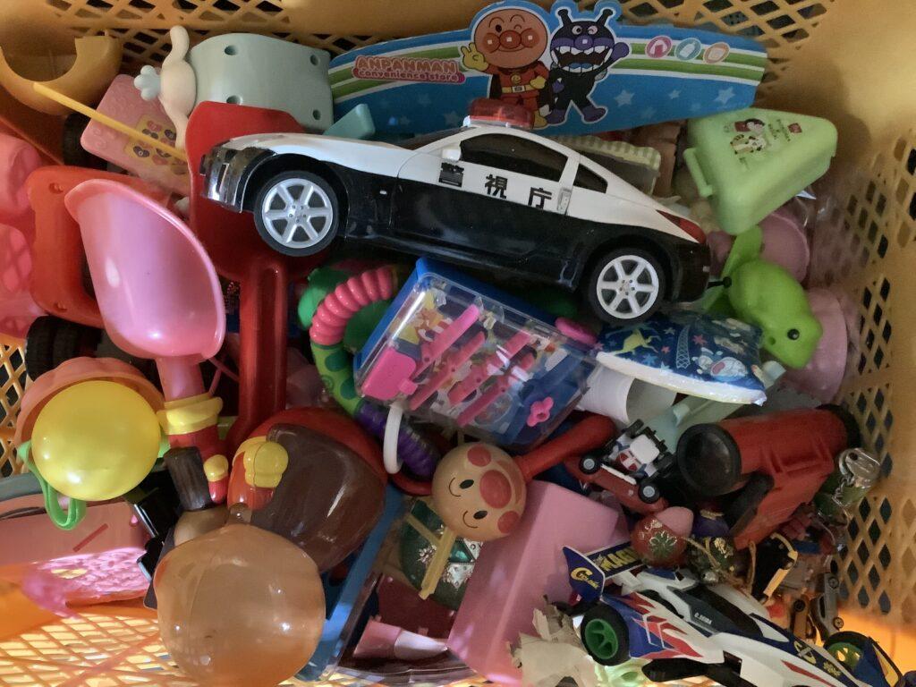 岡山市北区庭瀬で回収したおもちゃ