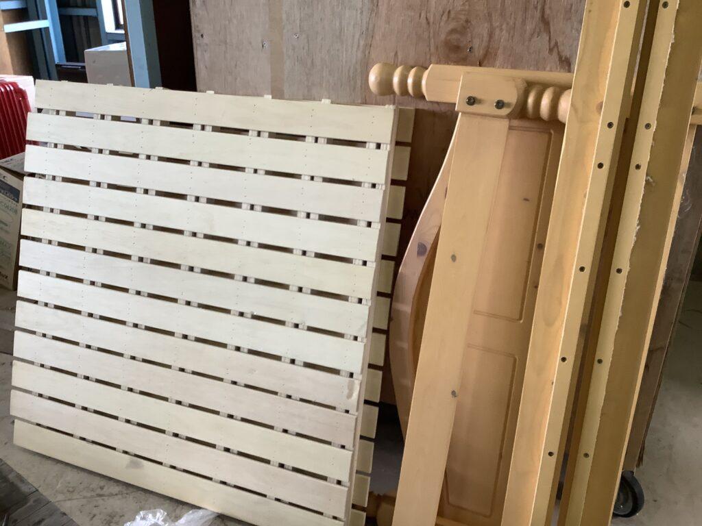 岡山市東区瀬戸町で回収したベッドフレーム