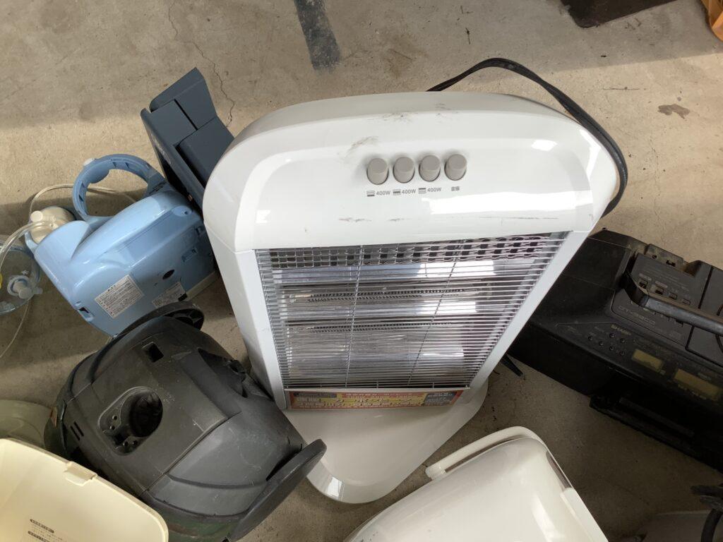 岡山市東区瀬戸町で回収したヒーター