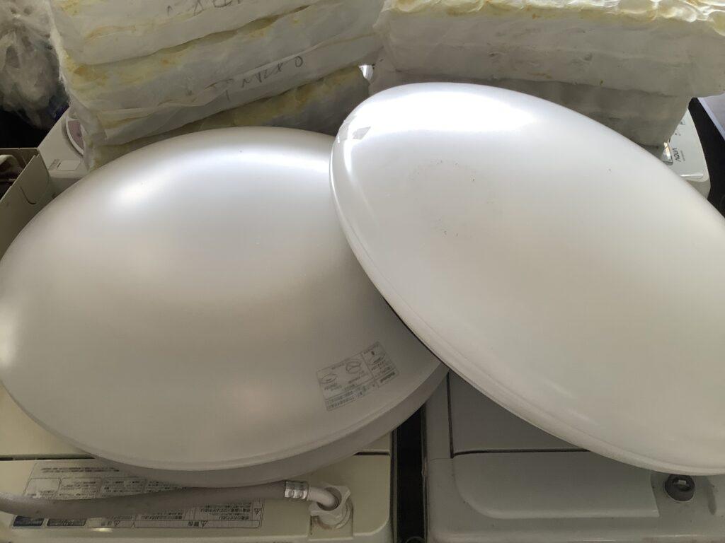 岡山市南区大福で回収した照明器具