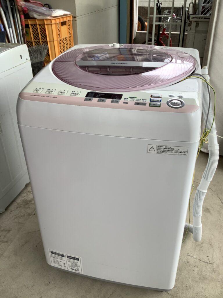 岡山市中区雄町で回収した洗濯機