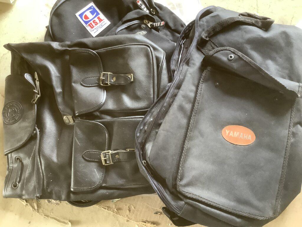 岡山市中区平井で回収したバッグ